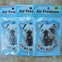 novelty make hanging paper car vent air freshener