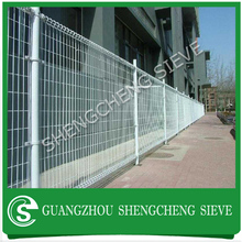 Double loop wire fencing/Double circle ornamental fence