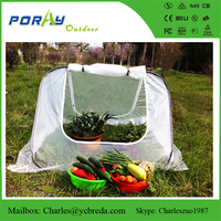 Easy triangle cloche with 130GSM lined PE for garden
