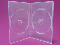 hot sale pp cd dvd case plastic dvd case transparent