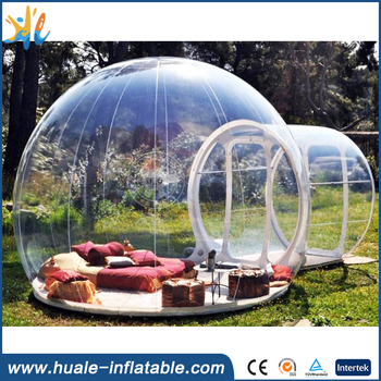 High Quality Inflatable clear Bubble Tent/clear tent