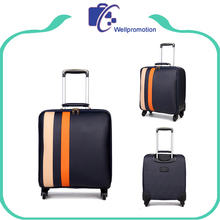 20 inch soft nylon airplane cabin luggage, business carry on luggage case