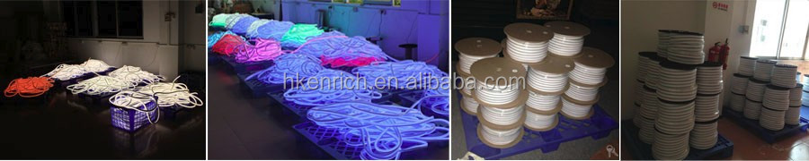 SMD5050 RGB Flex LED neon with perfect color mixing effect