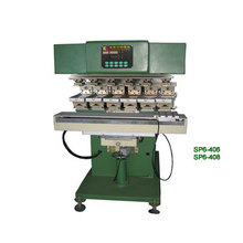 6-colour High speed pad printing machine with shuttle
