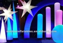 colorful customized inflatable LED lighting decoration for advertising and party with good quality