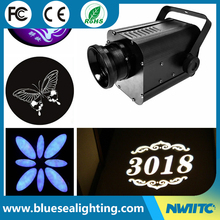 Event customized 30w rotating logo projection led gobo led projector