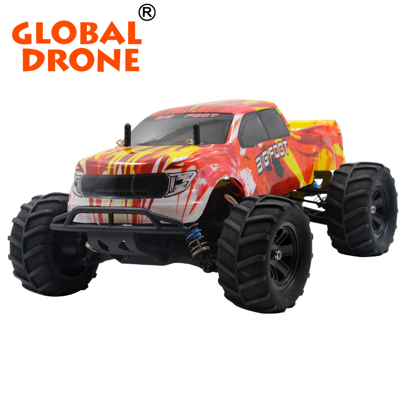 C605 2.4g 1/16 rc monster truck toy,Ready to run remote control car with long playing time