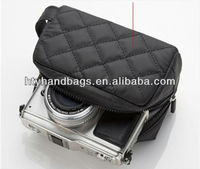 Quilted digital gear & camera bags with handle