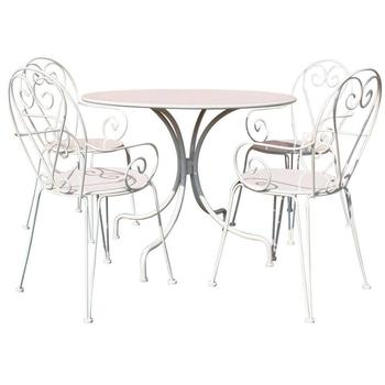 Outdoor Garden Metal Dining Set