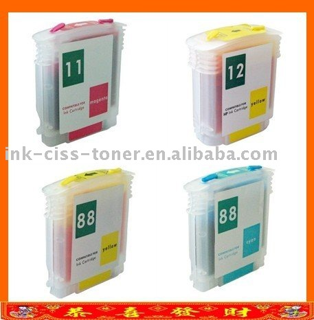 Refillable ink cartridge HP14 5010D 5011D for hp printer