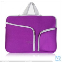 Hot Promotional custom neoprene laptop sleeve 15.6 inch