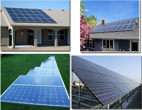 energy saving solar power system for home in guangzhou / 1KW 2KW 3KW solar system with all equipment / solar kit price for house