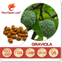 Guyabano Fruit Leaves Extract Powder Graviola Soft Gel Capsules