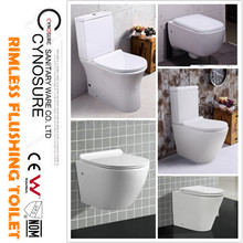 2018 Ceramic Peeping Chinese Toilet seat with 10 YEARS WARRANTY