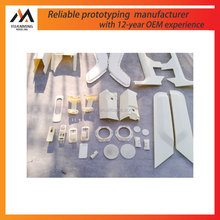 customized manufacturer plastic components model abs prototype RP