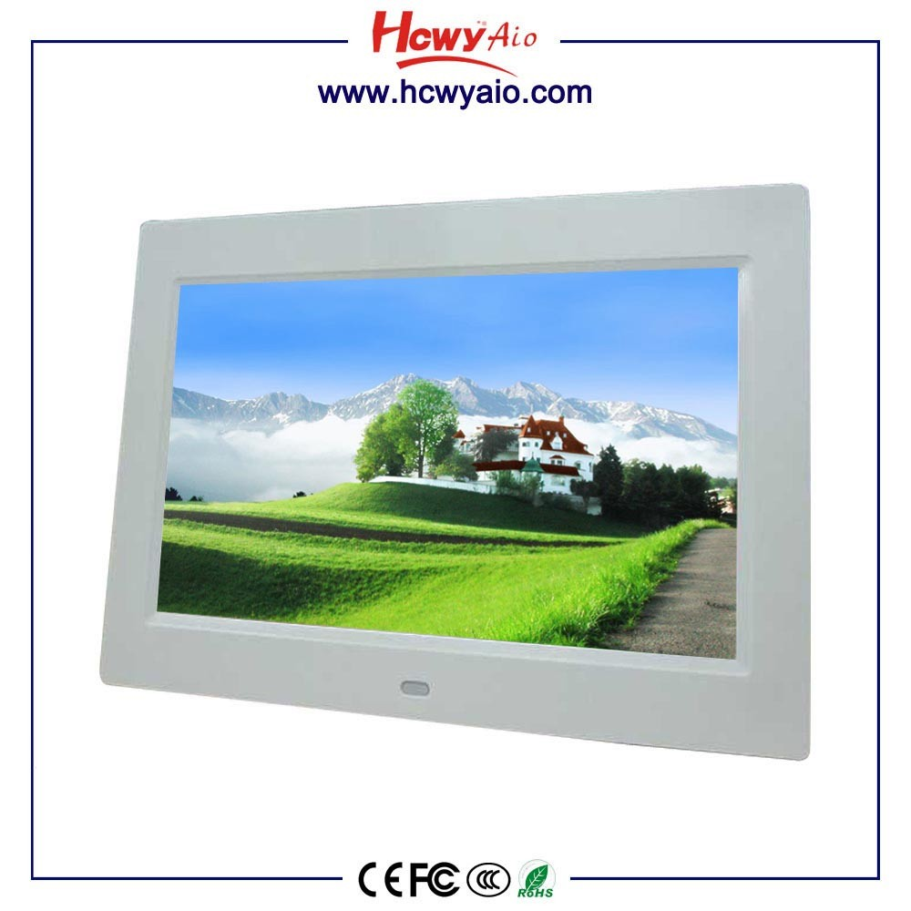 "7"" TFT Touch Screen Monitor bus video lcd advertising player"