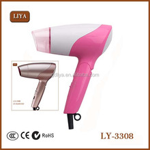 1000w Foldable Small Hair Dryer For Super Market Promotion