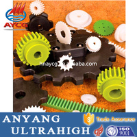 high quality customized wear resistance plastic worm gear