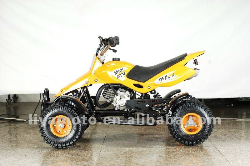 2 stroke pull start 49cc Mini ATV for kids