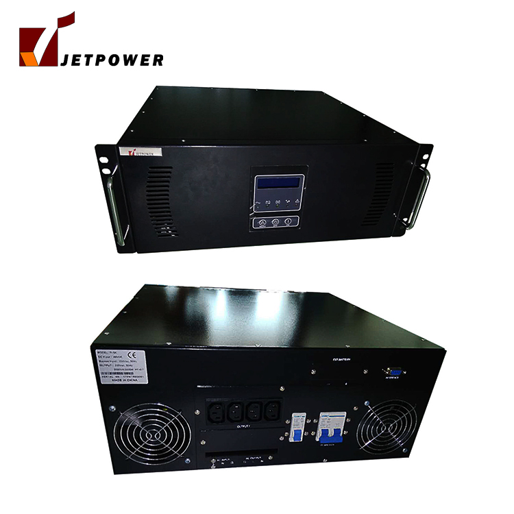 6Kw 48vdc Pure Sine Wave Power Inverter Rack Type Design With LCD Display and Isolation Transformer
