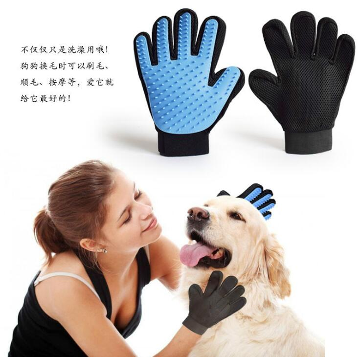 Customizble Various Color Dog Wash pet brush glove