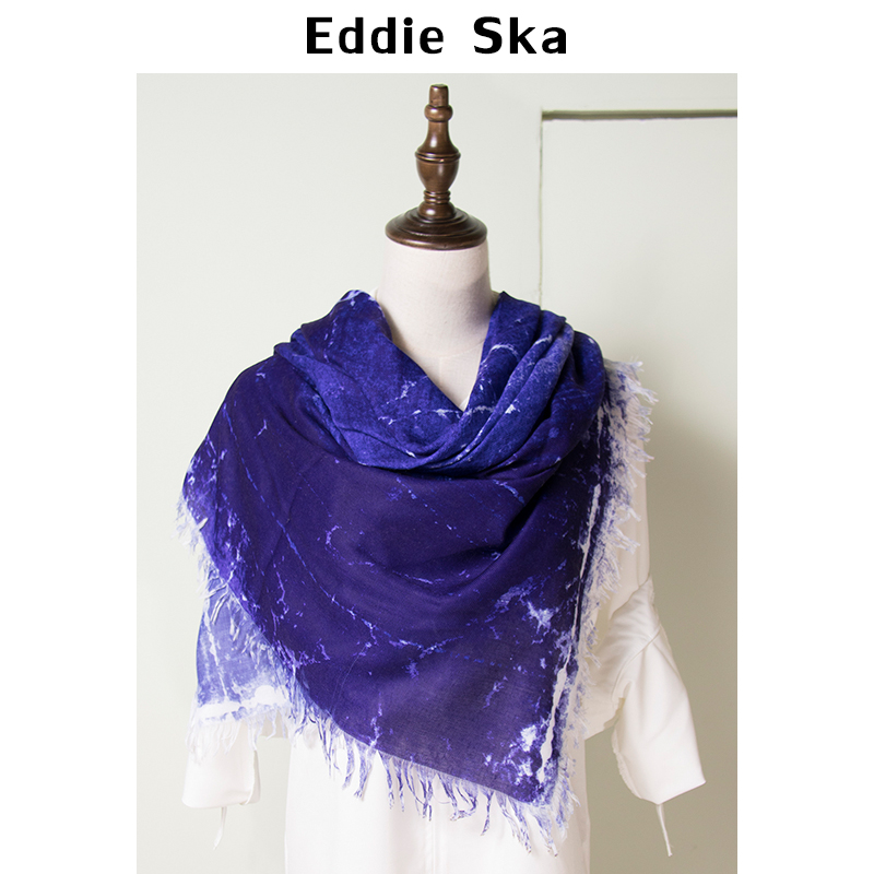 EDDIE&SKA PASHMINAS - ESLWL1017- stoles and shawls best funky scarf plain color