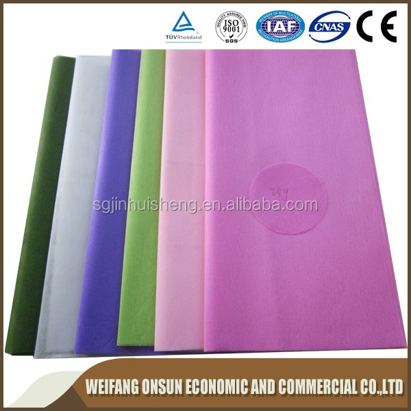 Various color Felt/color felt fabric/non woven fabric