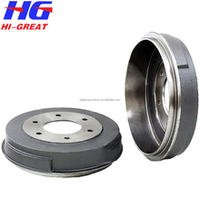 Hot sale auto spare parts 43206-T6000 brake drums for Nisan URVAN Box/bus pickup