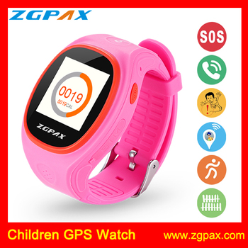 ZGPAX S866 hot selling exactly location and tracking GPS tracker watch with phone fucntion