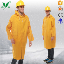 hot sale 100% waterproof 0.25-0.5MM raincoat or rain coat long raincoat jumpsuits custom raincoat for men
