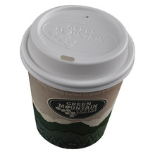 Disposable paper cup, ripple paper cup, coffee paper cup with lid