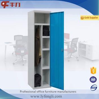 Personnel Design Metal Storage Cabinet With One Door Steel Lockers For Sale
