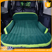 Inflatable car back seat air mattress , inflatable backseat car bed , air mattress for back seat