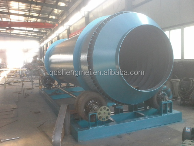 vacuum process foundry sand cooling cylinder