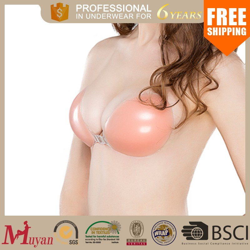 2016 new invisible silicone bra women evening dress sexy silicone bra reshape bra