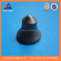 Carbide metal tips for road cutting tool