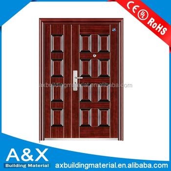 Good quality decorative Steel Security Door