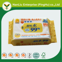 Alcohol free moisturizing baby wipes 86P China (OEM/ODM)