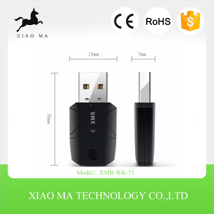 New arrival2.4Ghz 300Mbps High Power WiFi Wireless USB Adapter 802.11N for Mobile XMR-WK-71