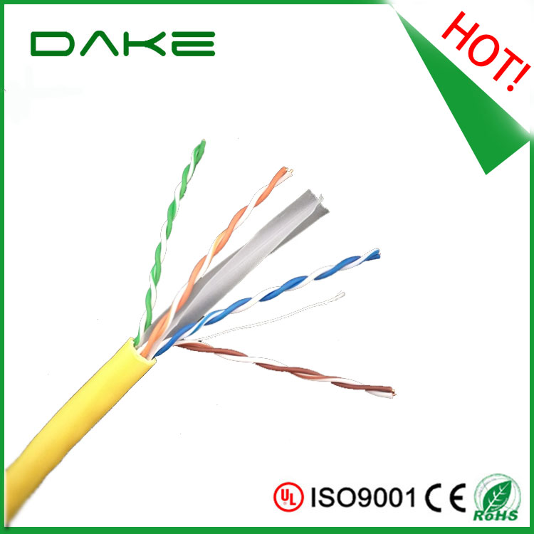 china supplier Best Price UTP Cat6 Lan Cable 1000ft/Roll Bare Copper pull box of 305 m cat6 utp cable