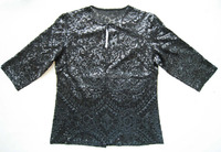 Women's Sequined Embroidery Latest Fashion Blouse