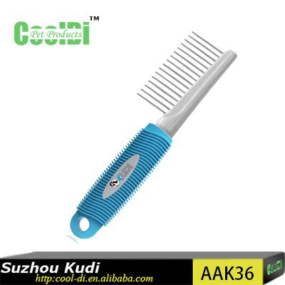pet grooming comb/metal pins comb AAK36