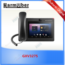 GXV3275, Original new Grandstream Android SIP Video Phone with Dual-switched Gigabit ports and integrated WiFi (802.11b/g/n)