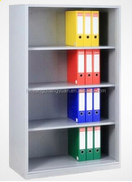 Without door metal office furniture comic book storage cabinet