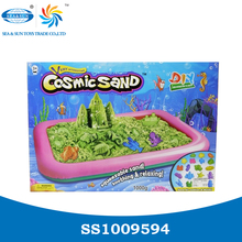 1000G DIY magic modelling space moving sand toys for kids