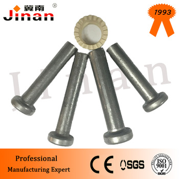 "ASTM a108 AWSD1.1 R 1""* 8-3/16 "" m25*205 welding stud shear connector for building"