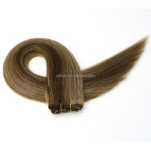 Piano color top grade hair weft brazilian human hair weaving cuticle aligned southeast asian virgin hair