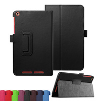 "Classic Stand PU Leather Case Cover For Acer Iconia Tab One 8 B1-820 8"" Tablet"