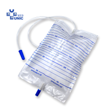 Disposable Urine Drainage Bag 2000ml Push-pull valve with CE/ISO approved