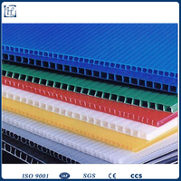 2-15mm thickness eco-friendly pc honeycomb plastic sheet/board